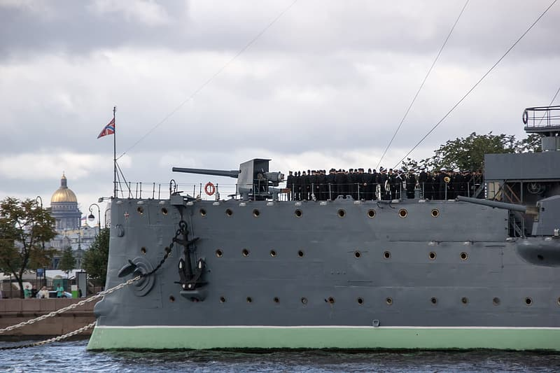 Gray ship on body of water during daytime