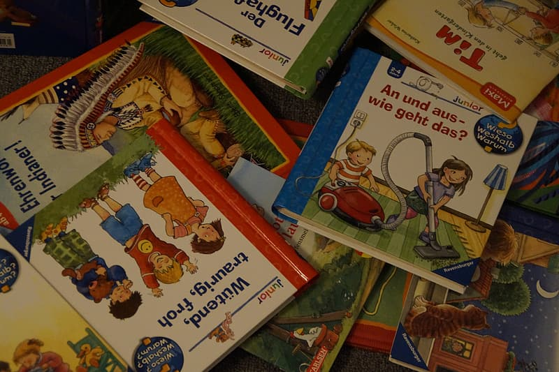 Story book lot