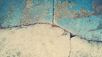 Blue and gray concrete