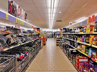 Photography of store interior