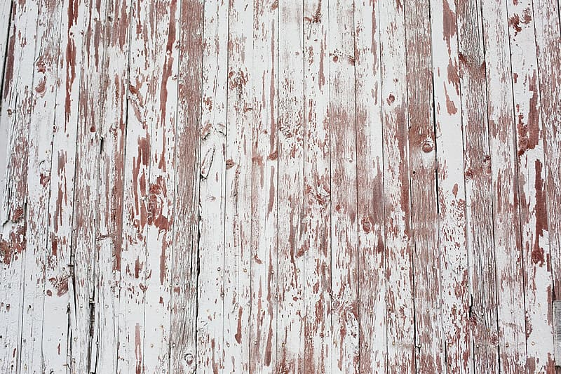 Brown and white wooden board