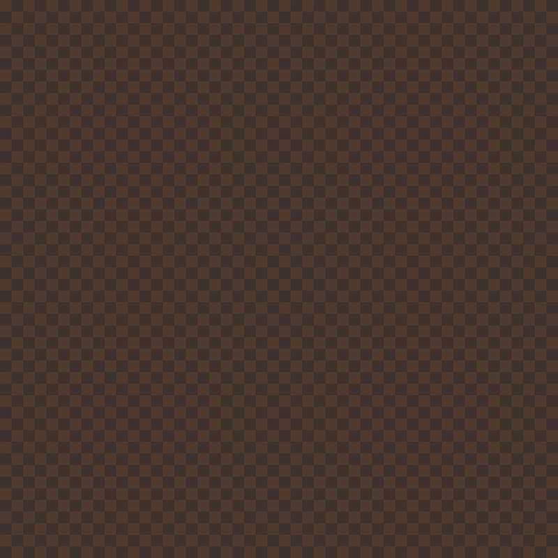 Brown gingham pattern