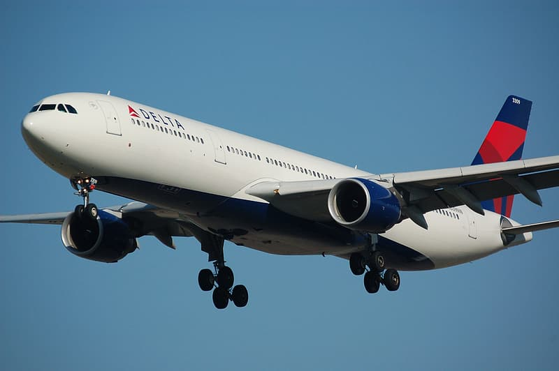 Flying Delta airlines