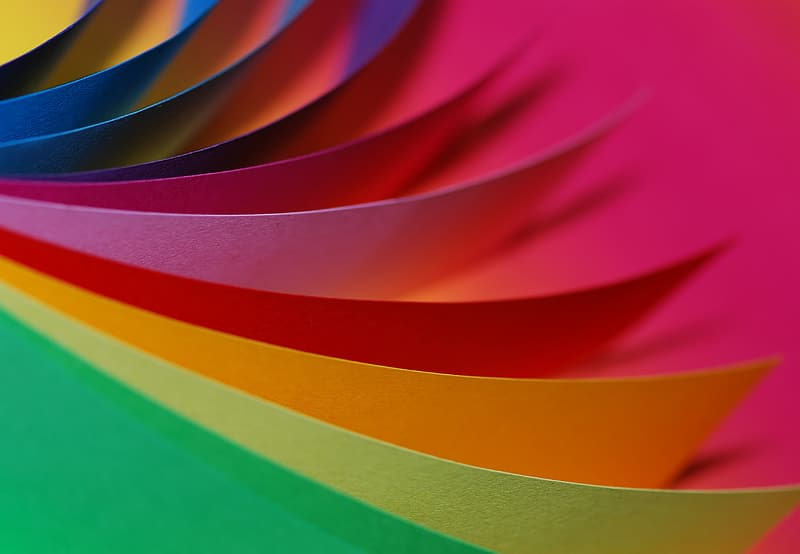 Untitled, paper, colorful, color, loose, green, yellow, red, office, tinker