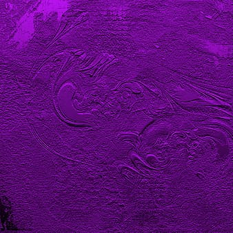 Purple and black abstract painting