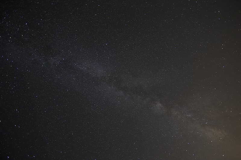 Sky with stars at night