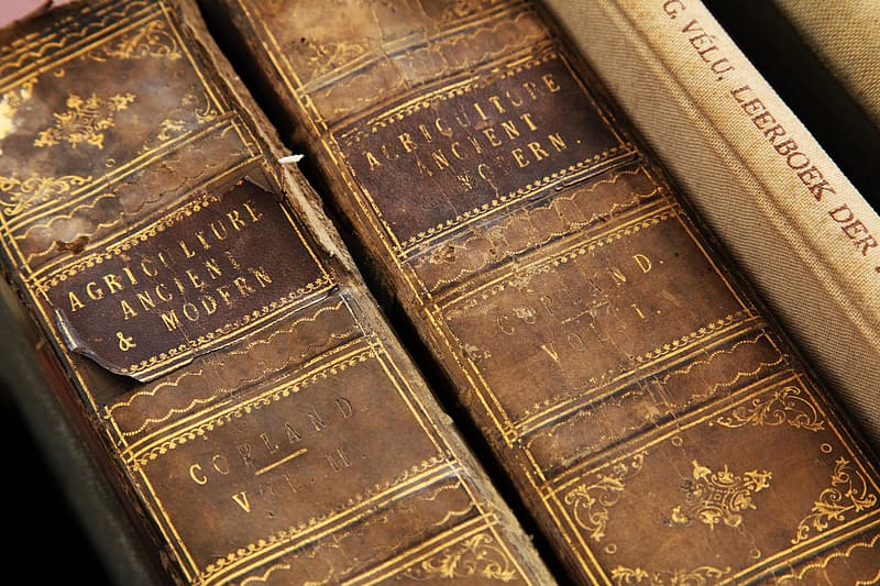 Two Agriculture Ancient & Modern books