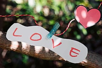 Love print bottle with love text