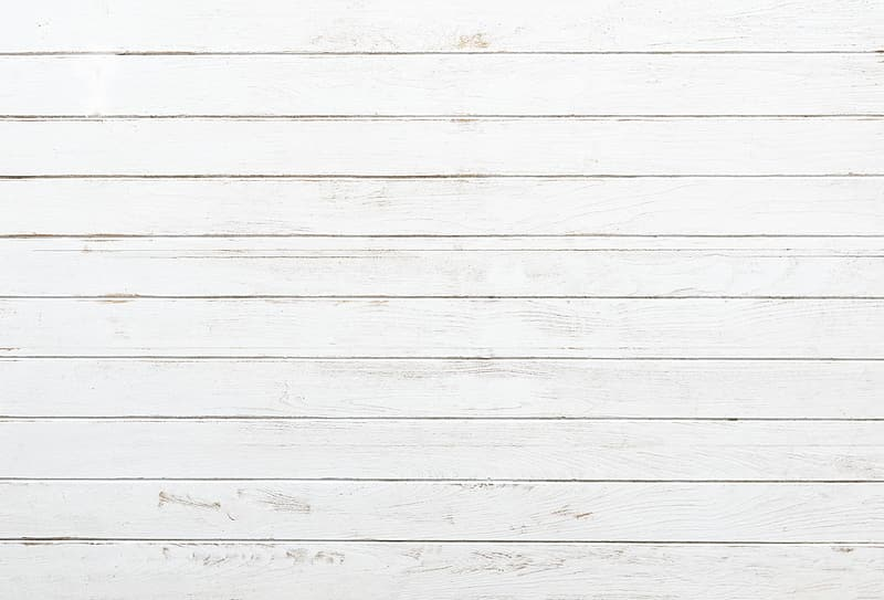 White wooden wall with white paint