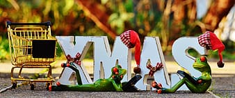White XMAS marquee letter decor