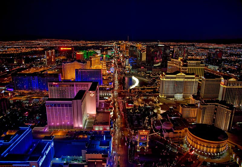 Aerial photography of city during nightime