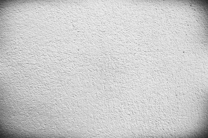 White painted wall with black paint