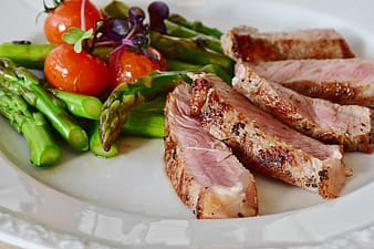Photo of steak served on plate