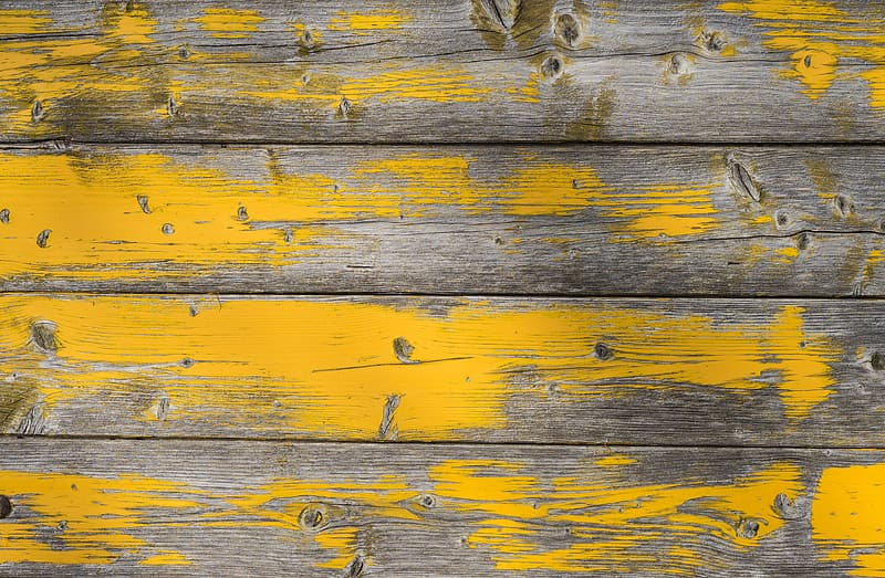 Brown and yellow wooden board