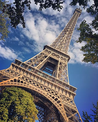 Low angle photography of Eiffel Tower, Paris