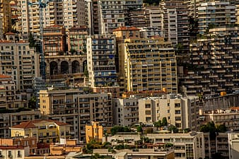 Aerial photography of concrete buildings at daytime