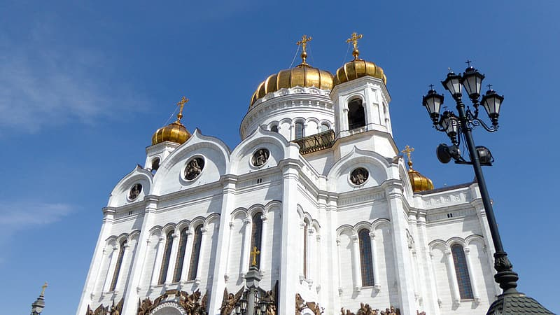 Moscow, Cathedral Of Christ The Saviour