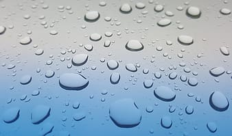 Water drops illustration