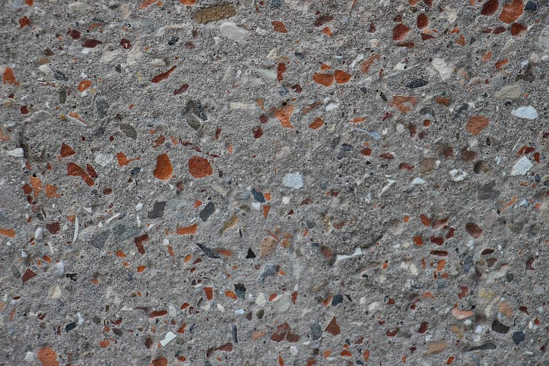 Gray and brown concrete surface
