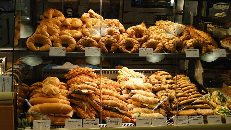 Assorted-variant of breads