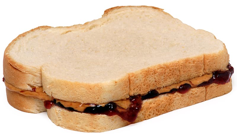 Sandwich with sauce