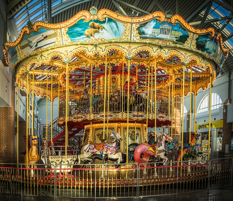 Photography of carousel