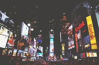 Photo of New York Time Square during nighttime