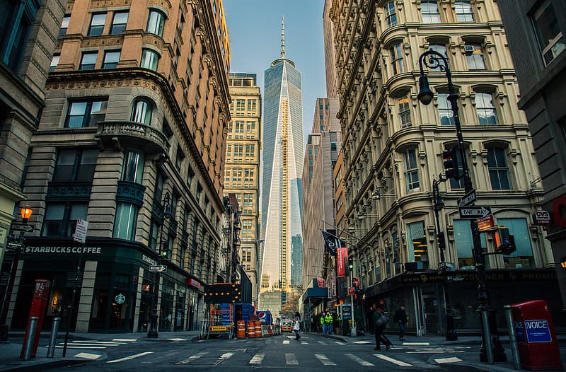 Photo of World Trade Center building