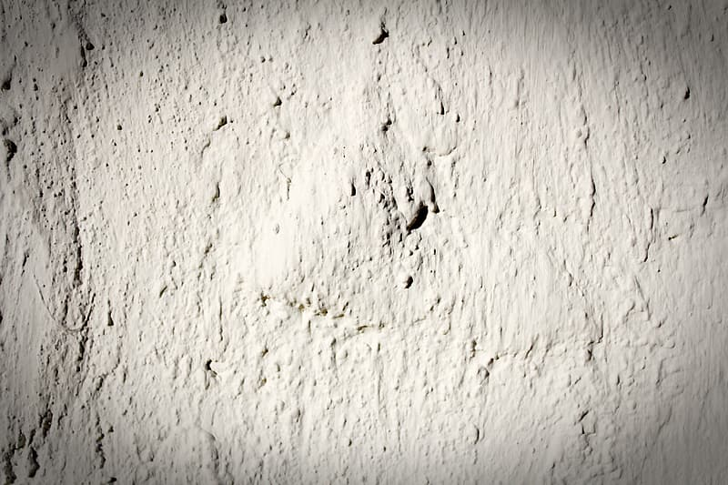 White concrete wall with black shadow