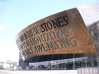 Stones Horizons and Awen Sing building