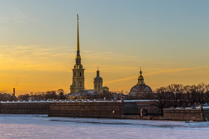 Panoramic photo of dome cathedral