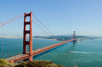 Golden Gate Bridge in San Francisco, California during daytime