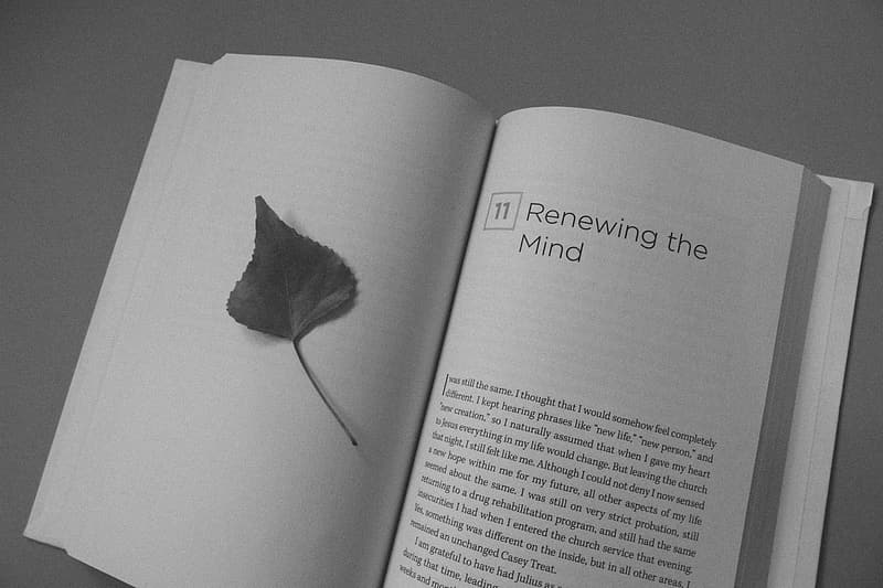 Renewing the Mind book page