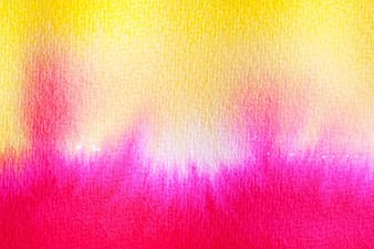 Yellow pink and white textile