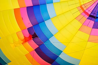 Multicolored canopy