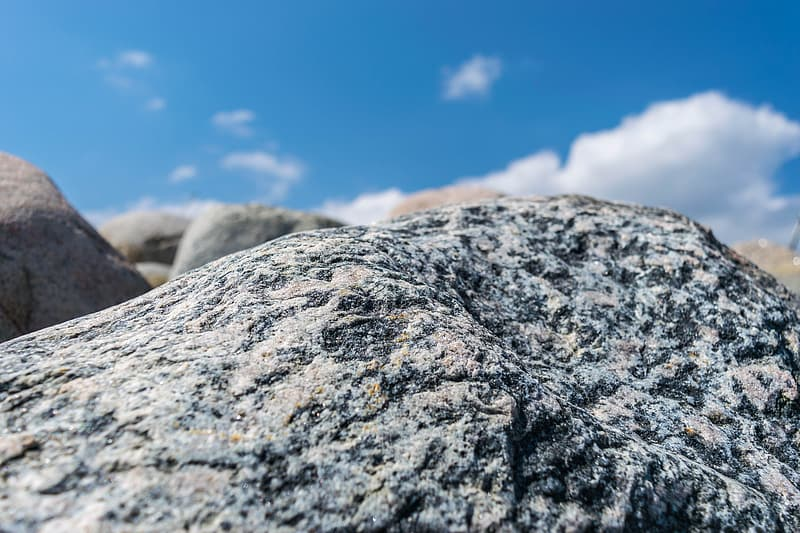 Close up photography of rock