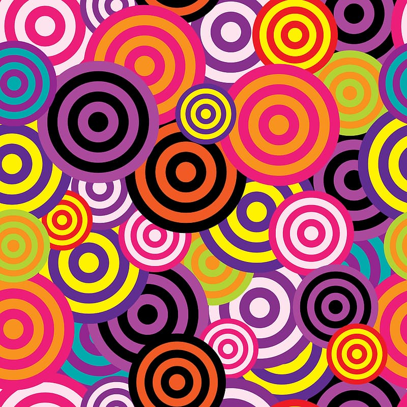 Multicolored spiral backgroudn