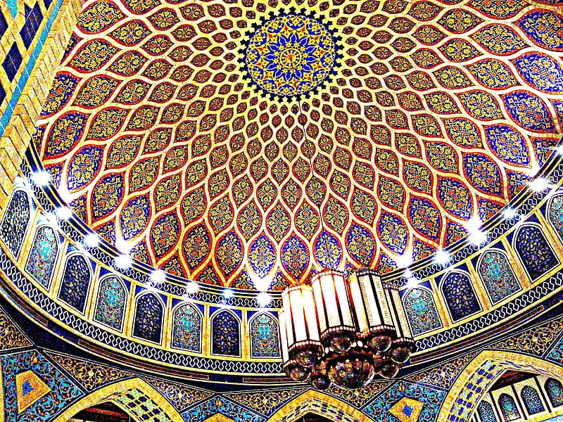 Oriental dome ceiling