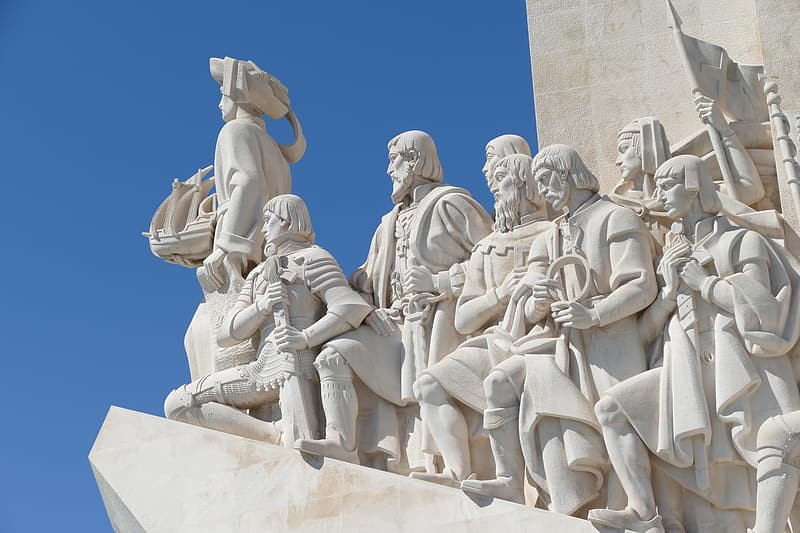 Group of man statue
