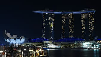 Marina Bay and Sands hotel, Singapore