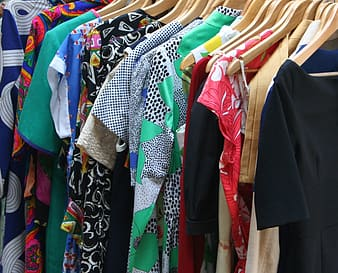 Assorted-colored tops