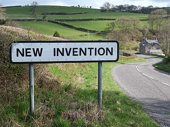 New Invention signboard