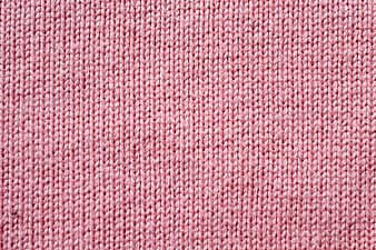 Red and white knit textile