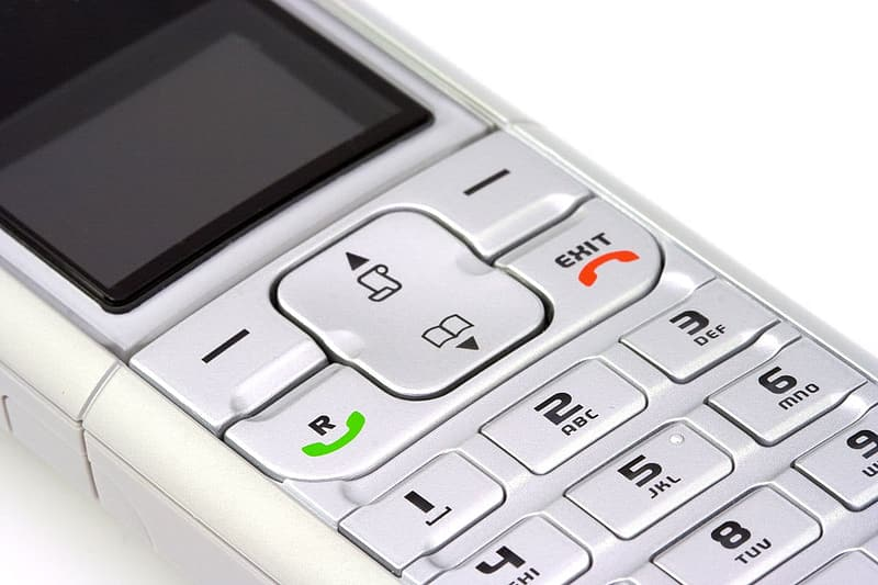 White and gray digital device