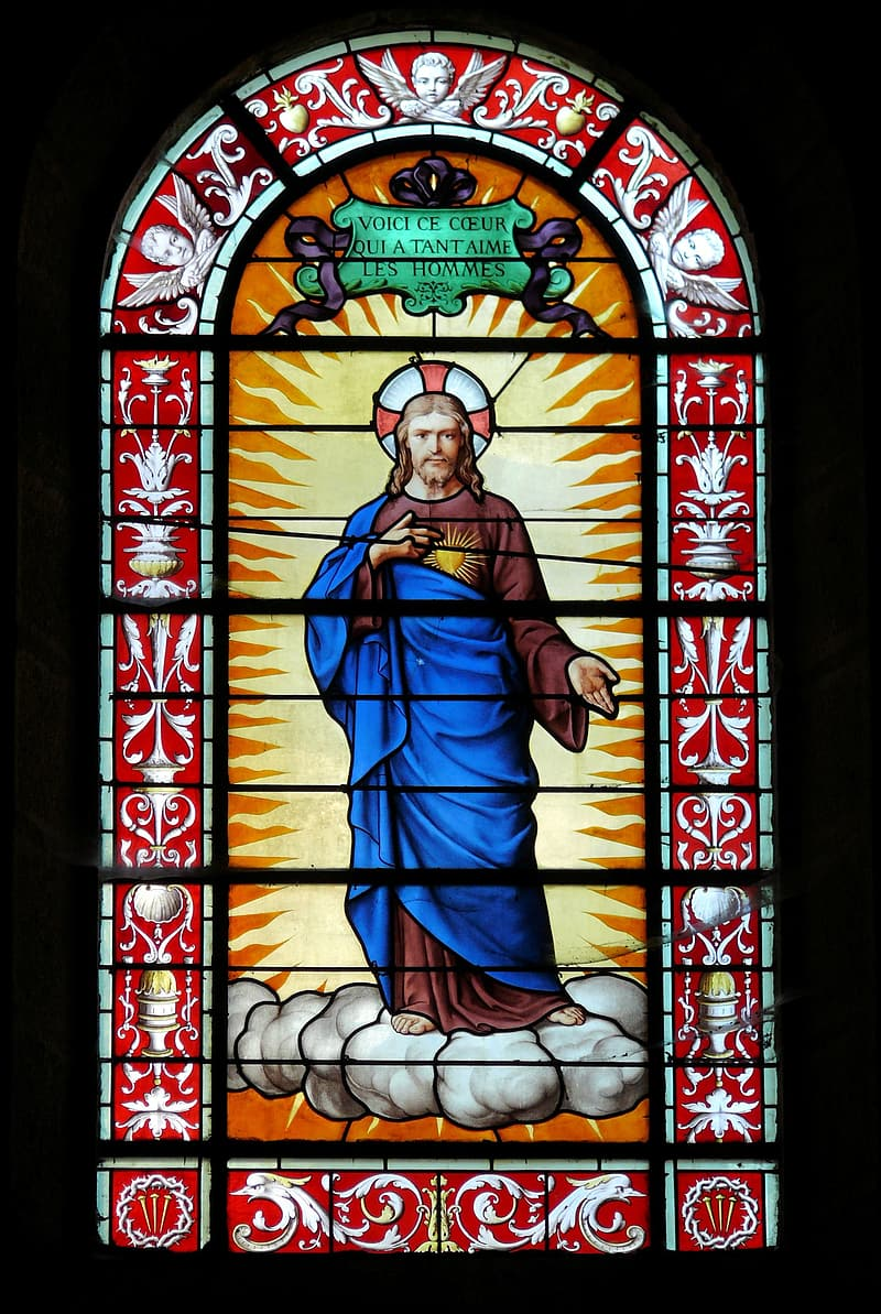 Stained Glass Window, Church