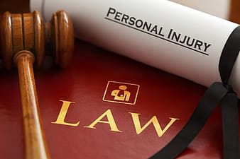 Brown wooden personal injury