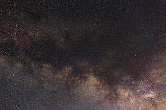 Landscape photograph of stars up above