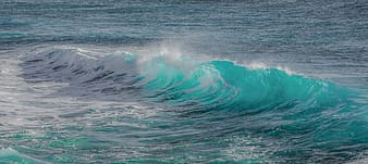 Photography of body of water wave