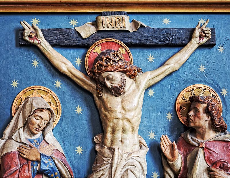 Crucifix of Jesus artwork