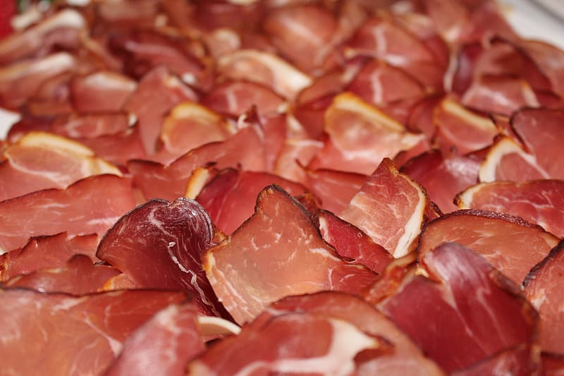 Untitled, black forest ham, ham, cold buffet, food, food and drink, meat, close-up, full frame, no people